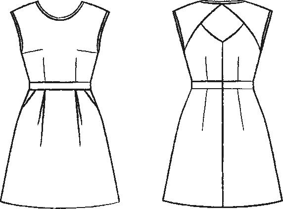 Patron robe de soiree classe