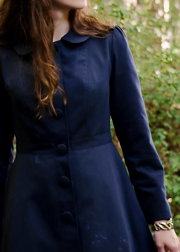 Les patrons la veste pavot deer doe le blog - Manteau coupe masculine pour femme ...