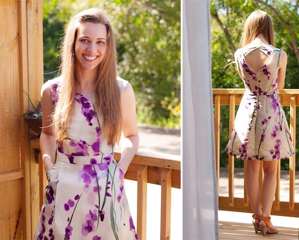 belle de toutes les robes, c\u0027est celle de Slotaby qui a réalisée une  Belladone de mariée ! Pour son mariage intime, elle a réalisé cette robe  simple